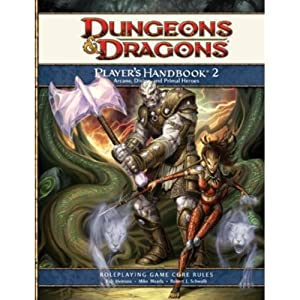 Dungeons and Dragons Player's Handbook 2 4th Edition w/ free set of dice