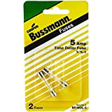 Bussmann Fuses 5a Time Delay Glass Fuse [DIY & Tools]