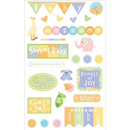 Mrs Grossman's Sticker, Baby Shower - 1