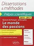 Dissertations & M�thodes Le Monde des...