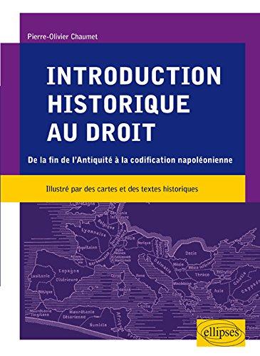 introduction-historique-au-droit-de-la-fin-de-lantiquite-a-la-codification-napoleonienne