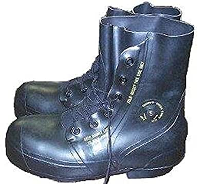 Black Mickey Mouse Boots - New Military Surplus (7 Regular)