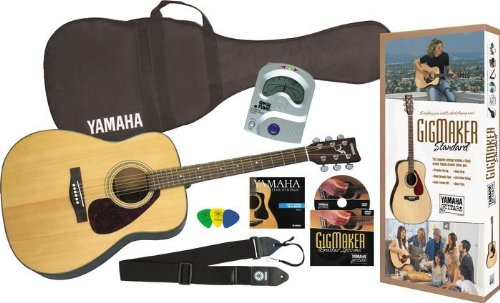 Yamaha Gigmaker Standard Acoustic Guitar Package
