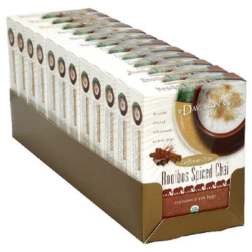 Buy Davidson's Tea Assorted Chai Tea, 8-Count Tea Bags (Pack of 12) (Davidson's Tea, Health & Personal Care, Products, Food & Snacks, Beverages, Tea, Black Teas)