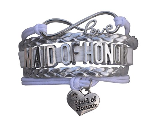 Maid of Honor Bracelet- Bridesmaid Gift Bracelet, Bridal Party Bracelets, Makes the Perfect Gift For Maid of Honor
