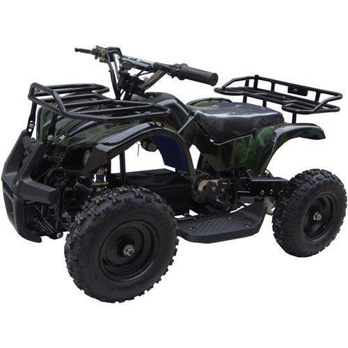Go-Bowen Sonora Green camo 350W (Brush Motor) Electric ATV Ride on Toys, Ages 6 - 8