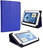 (Best Seller) Tablet Case / Folio fits Trio Stealth G2 TRIOSTLG2 [Royal Blue] for 8.1 to 10.1 devices and Bonus Item from NextDia