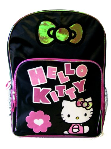 Hello Kitty Backpack – Black & Hot Pink