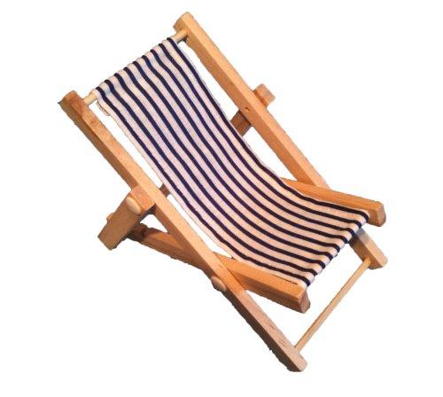 mini deko liegestuhl handyhalter. Black Bedroom Furniture Sets. Home Design Ideas