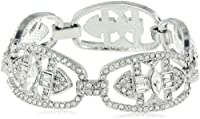 "Carolee Ornate Link Bracelet, 7.5"" from Carolee"