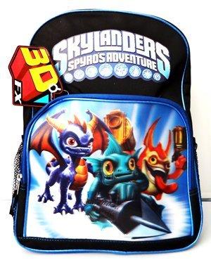 Skylanders Spyros Adventyre 16 Backpack