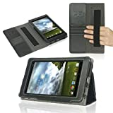 Poetic Slimbook Case for ASUS MeMO Pad ME172V 7-Inch Android Tablet Black (3 Year Manufacturer Warranty From Poetic)