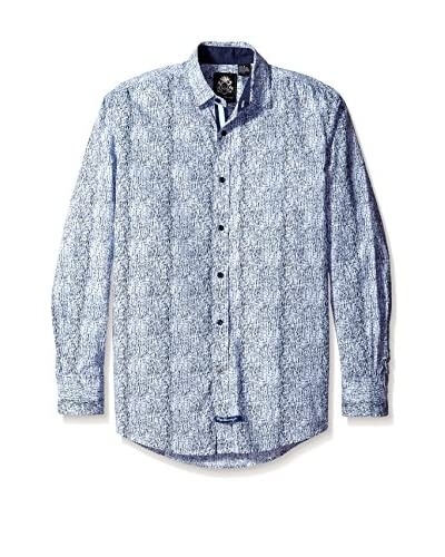 English Laundry Men's Printed Sport Shirt
