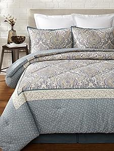 Amazon.com - Full Comforter Set (Laura Ashley Whitfield) -
