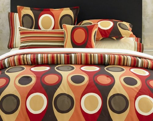 City Scene, Retro Radar Collection, Duvet Set,