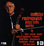 Mstislav Rostropovitch Plays Cello Works (Coffret 9 CD)