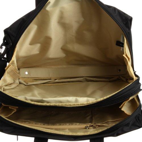 [ワールドトラベラー] World Traveler ワールドトラベラー ステーブル ビジネスバック(2気室・A4サイズ・PCポケット・背面ポケット・エキスパンダブル) 41916 01 (ブラック)
