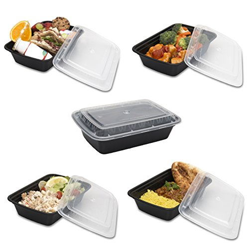 bento lunch box meal prep food restaurant containers with lids 9 home garden kitchen. Black Bedroom Furniture Sets. Home Design Ideas