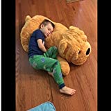 "Niuniu Daddy 47"" Giant Stuffed Puppy Dog Soft Extremely Plush Animal Toy Pillow"
