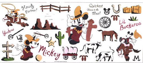 Mickey For Kids L'il Buckaroo Jumbo Stick-Ups