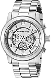 Michael Kors Watches Oversized Silver Runway Watch