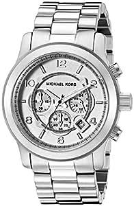 Michael Kors Men's Runway Silver-Tone Watch MK8086