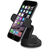 iOttie Easy View 2 Car Mount Holder for iPhone 6 (4.7)/Plus (5.5) /5s/5c, Samsung Galaxy S6/S6 Edge/S5/S4/Note 4/3, LG G4, Google Nexus 5 -Retail Packaging -Black