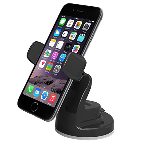 iOttie Easy View 2 Car Mount Holder for iPhone 7 7 Plus, 6s Plus 6s 5s 5c, Samsung Galaxy S7 Edge Plus S7 S6, Note 5 -Retail Packaging -Black (Ottie Car Mount compare prices)