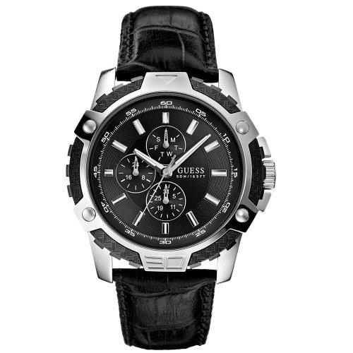 Guess-Reloj de pulsera hombre Fiber Cronógrafo Cuarzo Piel w14558g1