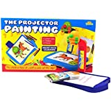 Little Treasures Projector Painting Set. A 2 In 1 High Tech Learning Set Including 3 Lantern Slides, 21 Patterns...