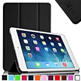 Fintie iPad mini 2 with Retina Display / iPad mini SmartShell Case - Ultra Slim Lightweight with Smart Cover Auto Wake / Sleep for Mini 2 (2013 Edition) and Mini (2012 Edition) - Black
