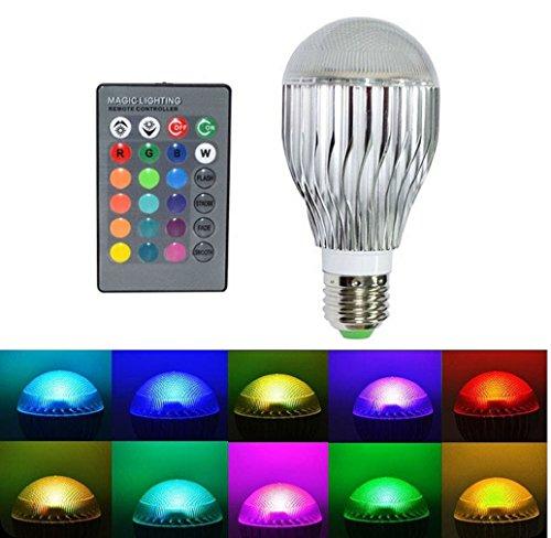 Tonsee E27 15W RGB LED Licht Farbwechsel Lampe mit Fernbedienung Verkauf