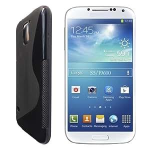 Plastron S Line TPU Soft Silicon Gel Case Cover For Samsung Galaxy S5 - Black