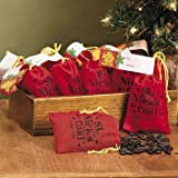 St. Nick's Coal Bubble Gum (Pack of 12 Bags) - Gifts for the Hostess