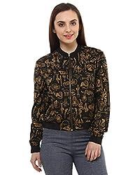 Oxolloxo Women trendy bomber jacket