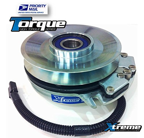 Replaces John Deere TCA15800 Electric PTO Clutch - Ztrak 737, 757, 777, 797 - OEM UPGRADE! Triple Wire Protection, Billet Pulley, High Temp Bearings picture