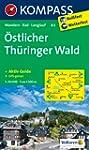 �stlicher Th�ringer Wald: Wanderkarte...