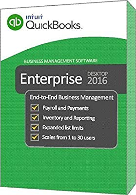 QuickBooks Enterprise 2016 Silver Edition, 6-User (1-year subscription)