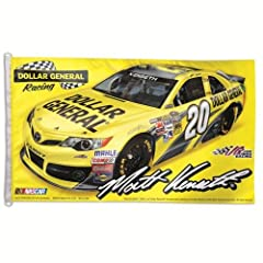 NASCAR Matt Kenseth Dollar General Flag, 3 x 5-Feet by WINAV