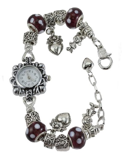 Add-A-Link-Of-Charm Pandora Style Watch Familys Love Everlasting 3 front-172326