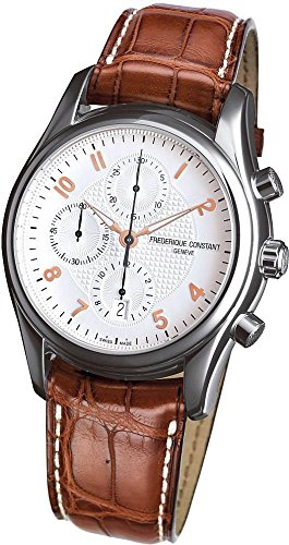 Frederique Constant Geneve Runabout Fc-392Rv6B6 Automatic Mens Chronograph Classic & Simple