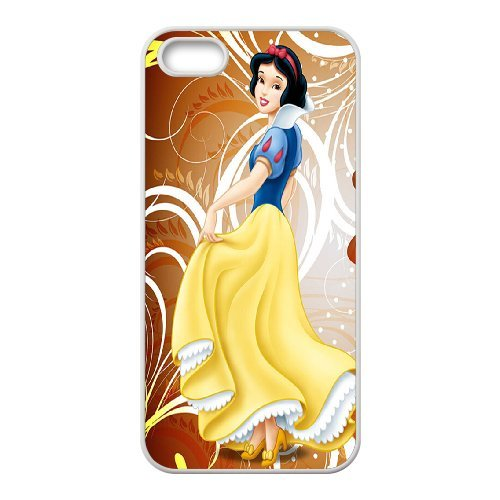 Unique Phone Case Pattern 16Snow White with Apple- For Apple Iphone 5 5S Cases