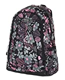 JEEP DURABLE BACKPACK SPORTS SCHOOL TRAVEL BAG FLIGHT CABIN RUCKSACK PH-1369BLACK/PINK