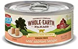 Whole Earth Farms Grain Free Salmon Recipe (Paté)