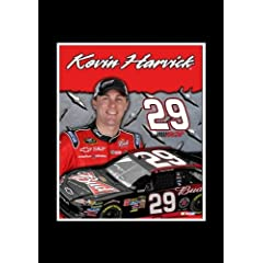 Kevin Harvick 8 X 10 Unframed Photo In An 11 X 14 Black Mat by R R Imports