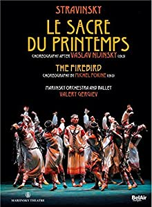 Stravinsky: Le Sacre du Printemps, The Firebird - Stravinksy and the Ballet Russes 100th Anniversary Collectors' Edition (Mariinsky Orchestra and Ballet / Valery Gergiev) DVD BOOK [2013]