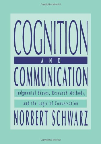 Cognition and Communication: Judgmental Biases, Research...