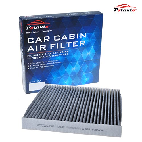 POTAUTO MAP 1003C Heavy Activated Carbon Car Cabin Air Filter Replacement compatible with Acura, Honda