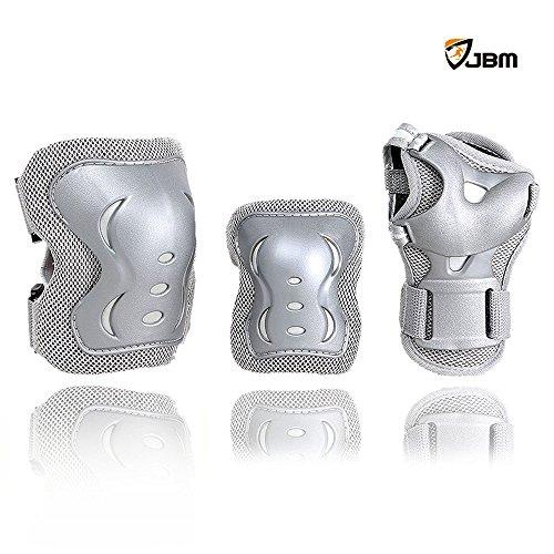 jbm-children-cycling-roller-skating-knee-elbow-wrist-protective-pads-black-adjustable-size-suitable-