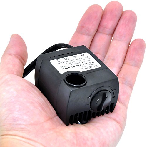 iRainy 80 GPH Submersible Water Pump For Aquarium Fish Tank Power-head Fountain Hydroponic Cooling (SL-381)